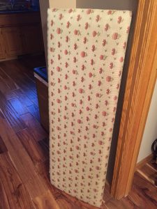 The ugly cedar chest cover